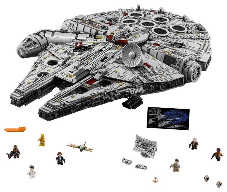 Star Wars: conheça a versão definitiva do conjunto de LEGO da Millennium Falcon 4