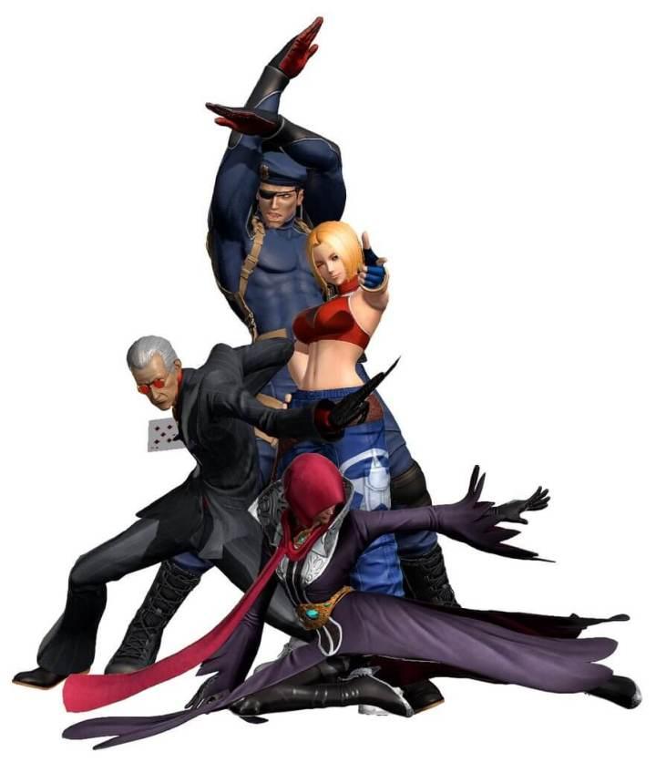 DLC personagens KOFIV 720x837 - The King of Fighters XIV terá Blue Mary como personagem em DLC