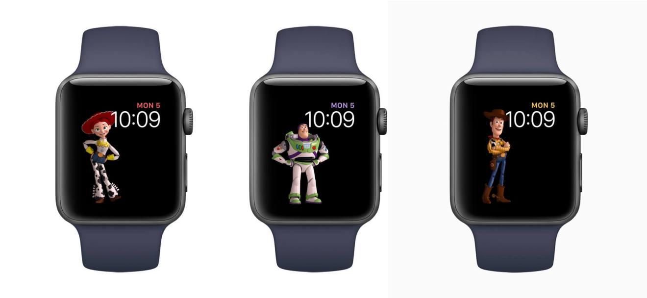 Pixar Apple Watch Faces - Beta do watchOS sugere suporte de Faces de terceiros