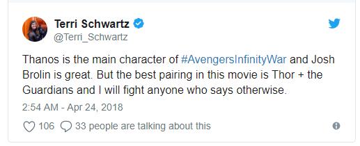 Vingadores: Guerra Infinita surpreende nas primeiras reações ao filme 8