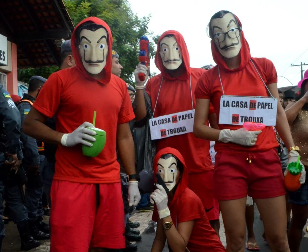 carnaval 1 - Só acaba quando termina: La Casa de Papel terá 3ª parte