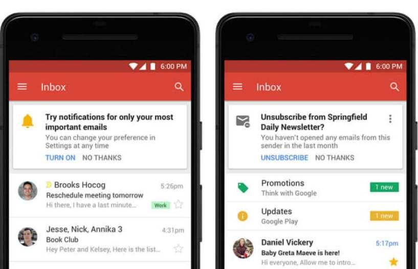 Confira todas as atualizações por trás do novo design do Gmail 6