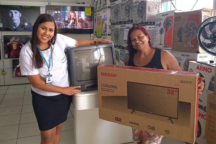 magazine luiza troca tv - Loja aceita TV antiga na compra de Smart TV com desconto exclusivo