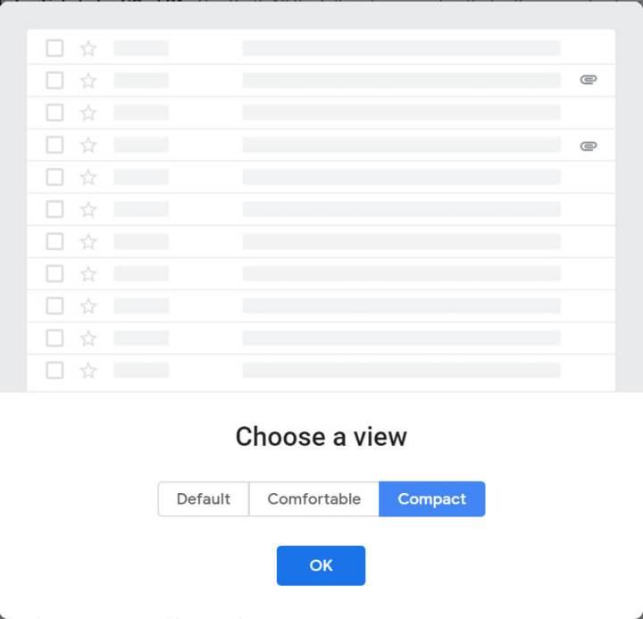 novo gmail layout compacto 720x693 - Vazam imagens do novo Gmail