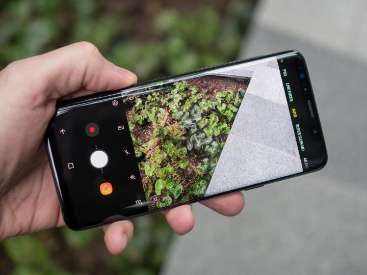 samsung galaxy s9 plus black camera interface 720x540 - Galaxy S9 e S9+: confira dicas da Samsung para aproveitar as câmeras