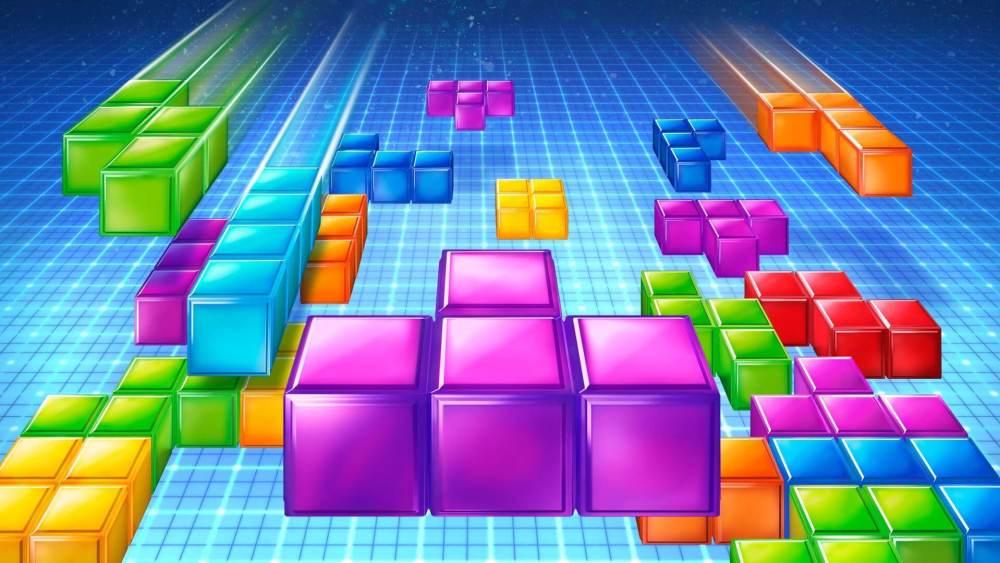 tetris - Jogue oito jogos clássicos através de extensões do Google Chrome