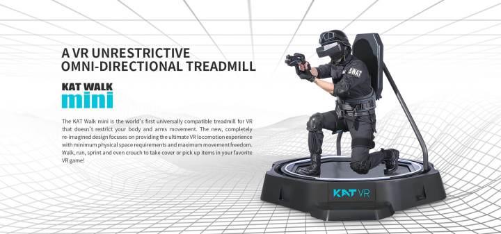 KAT Walk Mini: conheça a nova tecnologia de realidade virtual 11
