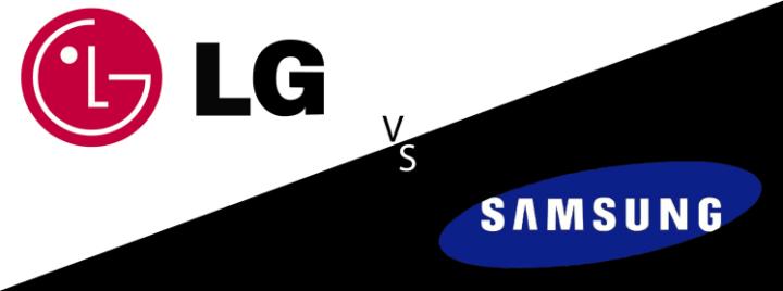 Samsung LG 720x268 - QLED ou OLED? Qual tecnologia de TV é a melhor?