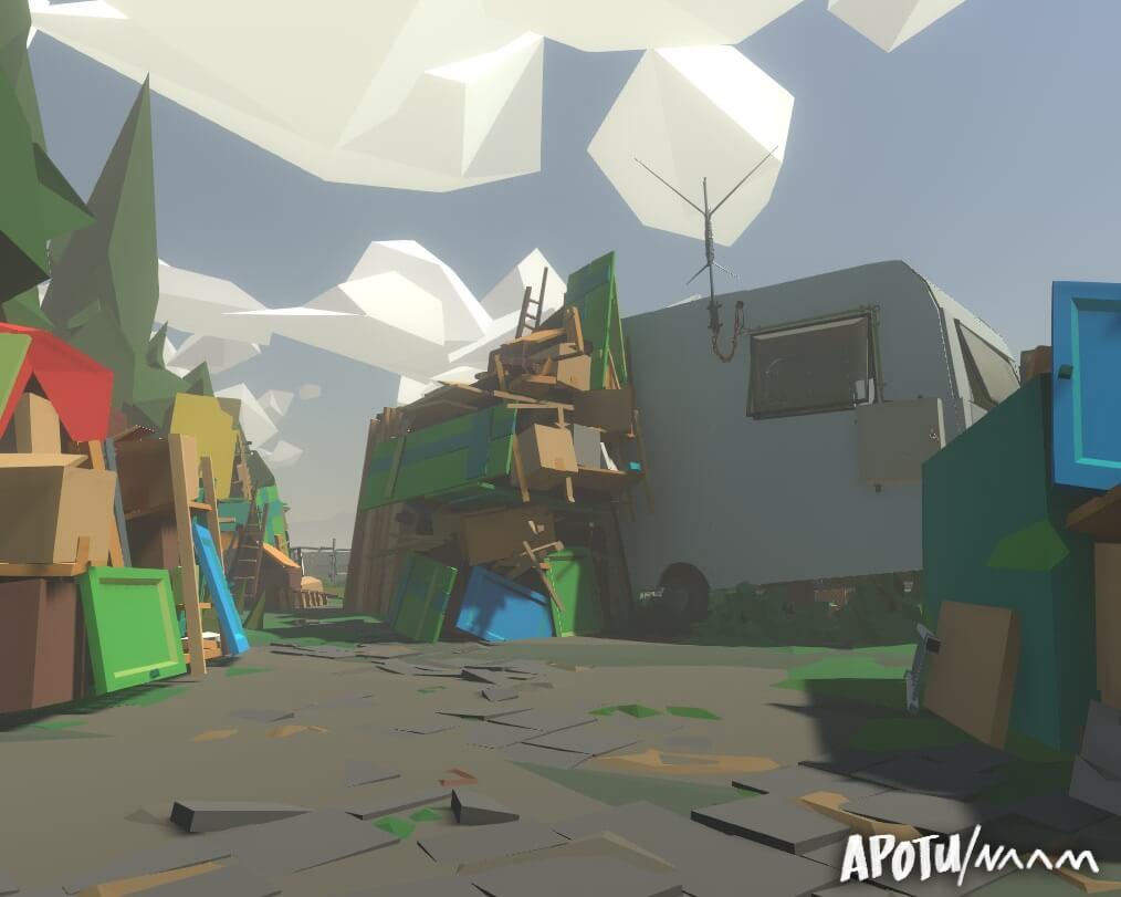 Conheça o mundo em realidade virtual criado por apenas uma pessoa 4