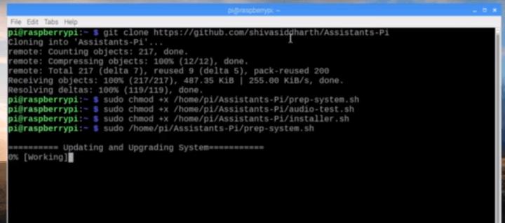 script 720x319 - Como construir um Smart Speaker com Google Assistant e Alexa juntos