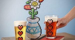 Vasos Power Up ¡El regalo perfecto para amantes de la cerveza!