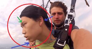 Perder el conocimiento en mitad de un salto de paracaidismo