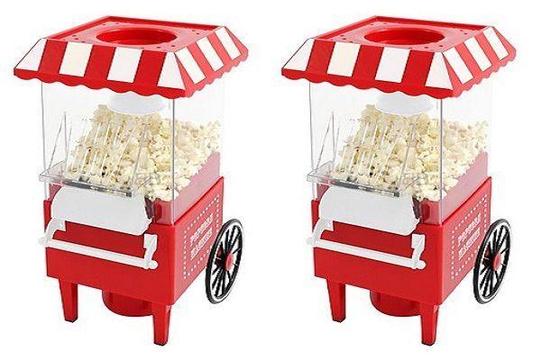 Popcorn Machine, palomitera con diseño de carrito de  feria