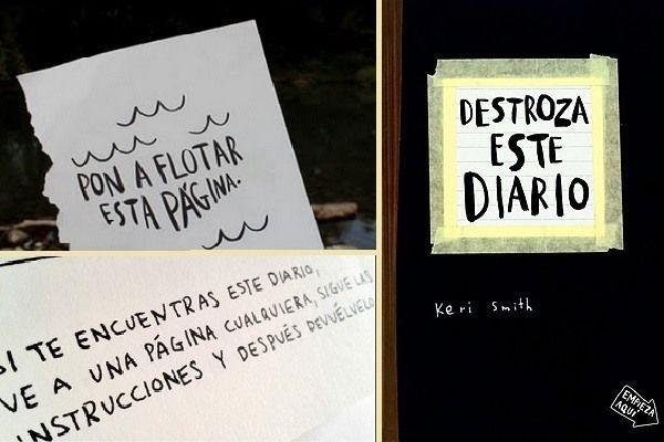 Destroza este diario y crea destruyendo