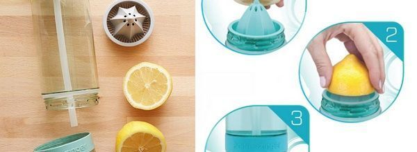 Botella Citrus Zinger