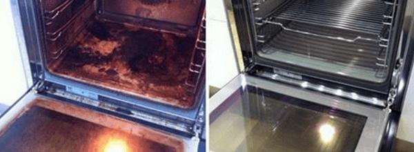 truco limpiar horno