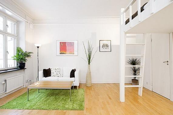cesped artificial apartamentos modernos