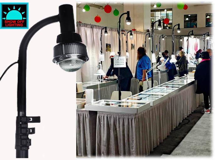 bright led trade show lighting craft show lighting