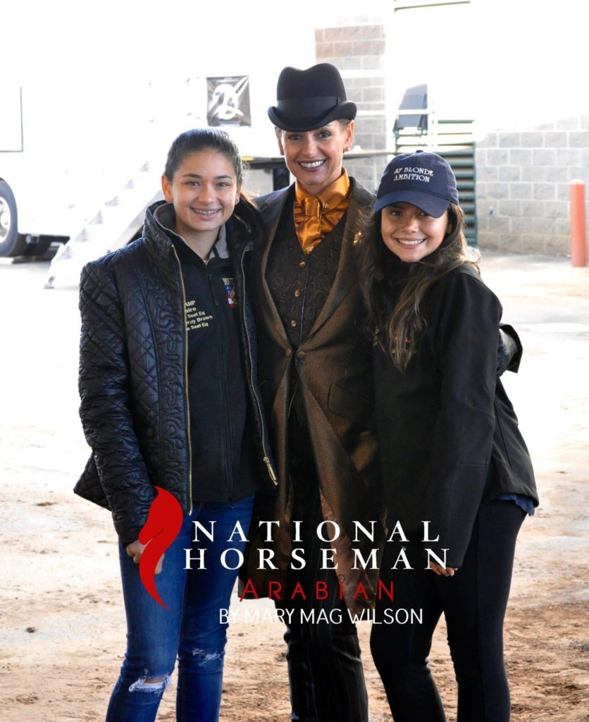 Isa, their mom Malou, and Val at the 2016 Region 12 Championships