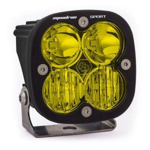 LED Light Pod Driving/Combo Pattern Amber Black Squadron Sport Baja Designs
