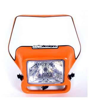 **Discontinued**Motorcycle Headlight KTM Replica Orange Baja Designs