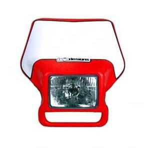 Motorcycle Headlight Honda Red Baja Designs