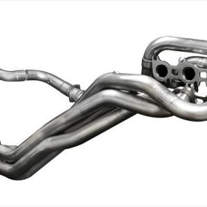 Long Tube Headers w/Connection Pipes 1.875 Inch x 3.0 Inch Catless Xtreme Plus Sound Level 18-Present Ford Mustang GT 5.0L V8 Stainless Steel Corsa Performance