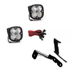 GM Silverado/Sierra (07-13) A-Pillar Kit Squadron Sport Lights Baja Designs