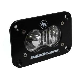 LED Work Light Clear Lens Driving Combo Pattern Flush Mount Each S2 Sport Baja Designs