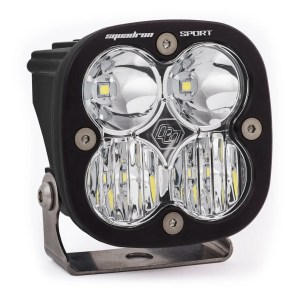 LED Light Pod Wide Cornering Pattern Clear Black Squadron Sport Baja Designs