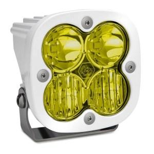 LED Light Pod Driving/Combo Pattern Amber White Squadron Sport Baja Designs