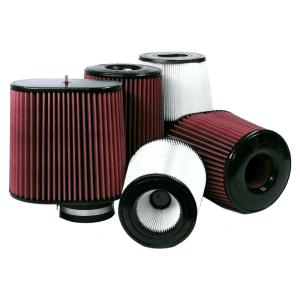 Air Filters for Competitors Intakes AFE XX-90026 Dry Disposable White S&B