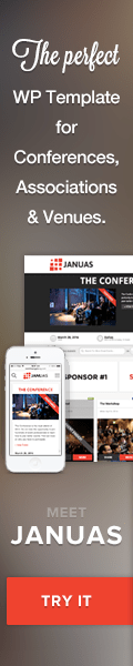 Januas multiple event management WordPress Theme