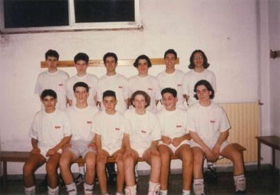 Showy-Boys-Allievi-Stagione sportiva 1994-1995