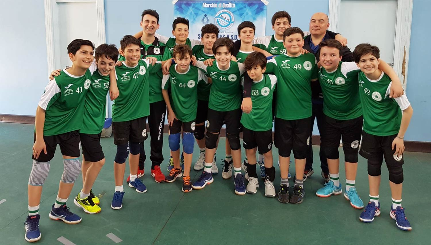 Primo posto nel girone e per l'under 13 è final four