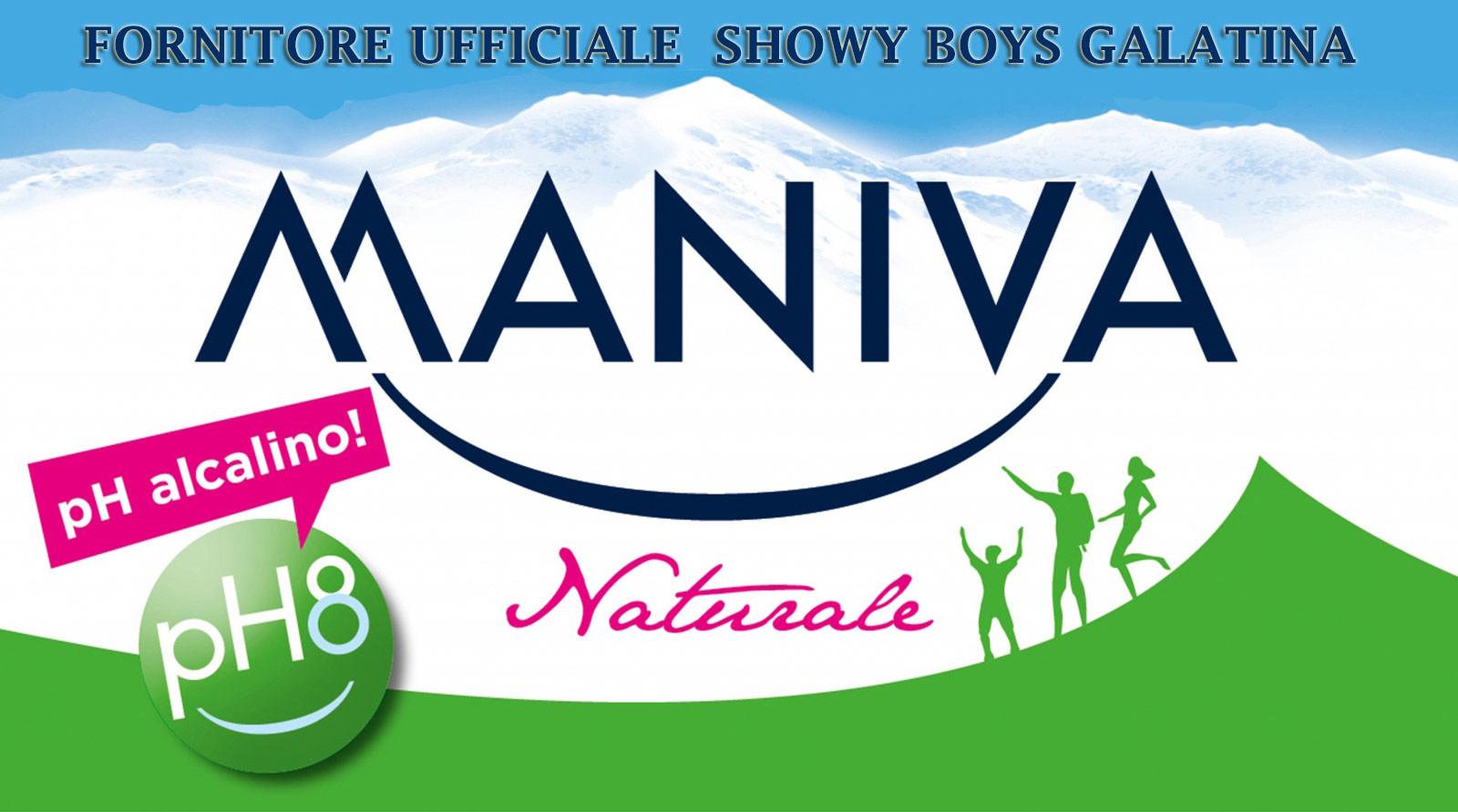 Acqua Maniva fornitore ufficiale della Showy Boys