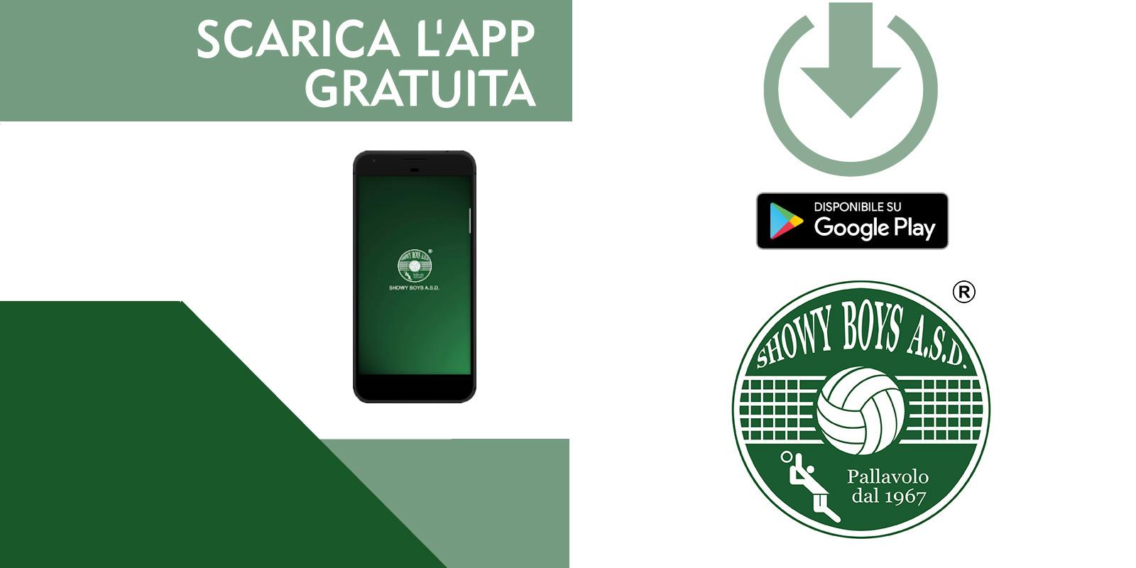 La Showy Boys presenta la mobile app ufficiale