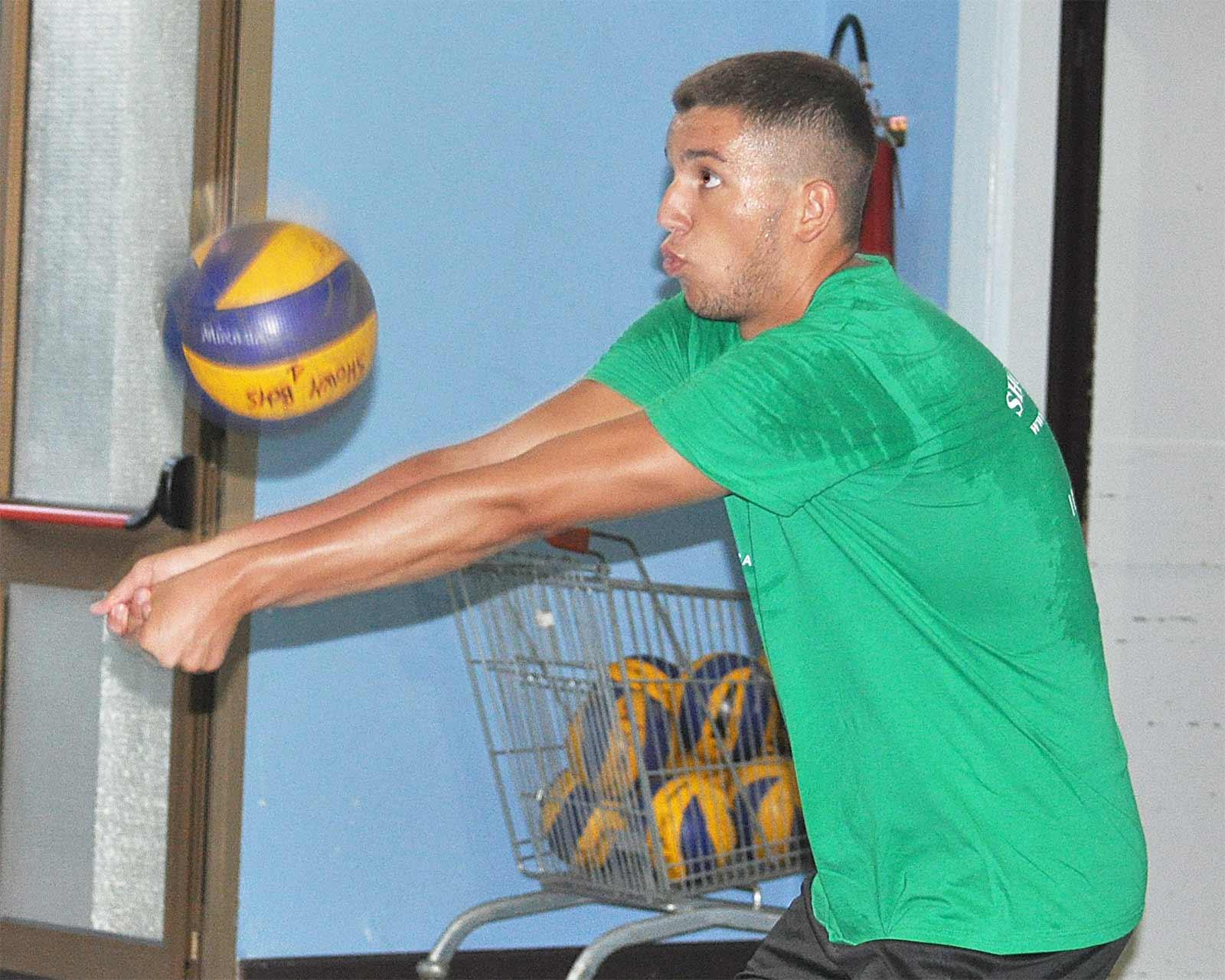 La passione per la pallavolo per Valerio è diventata stile di vita