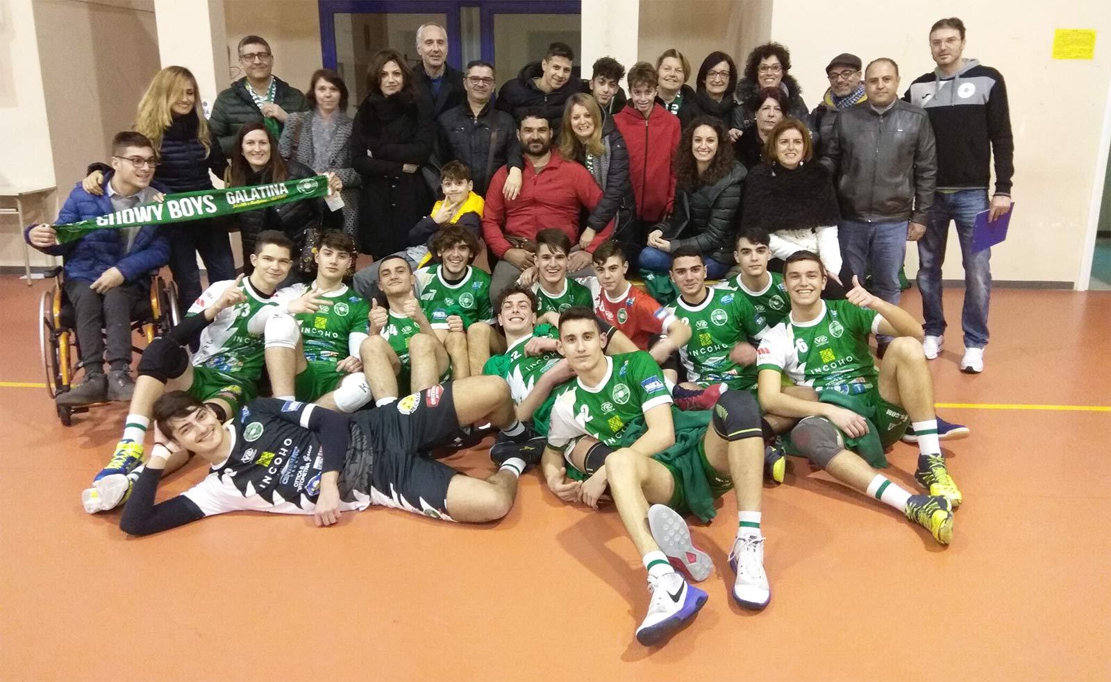 Gli allievi U18 impegnati tra campionato giovanile e serie C