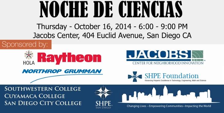 Update: Noche de Ciencias @ Jacobs Center