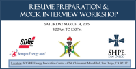 SDGE Resume Interview Workshop Slider