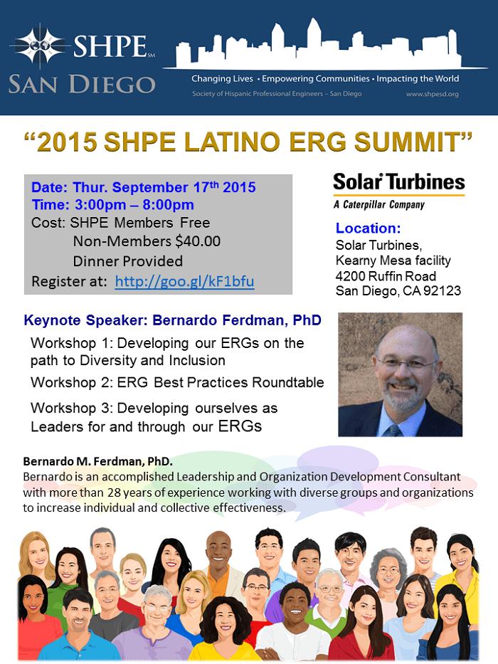 2015 SHPE SD Latino ERG Flyer