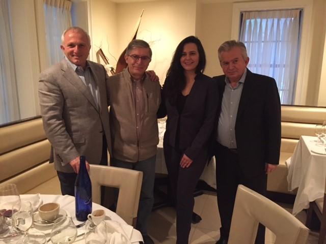 Me Suzanna Shkrelin javën që kaloi në New York