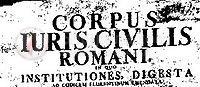 "Codex Justinianus, si u krijua ""Kodi Justinianit"" dhe rëndësia që ai u jepte provincave. -"