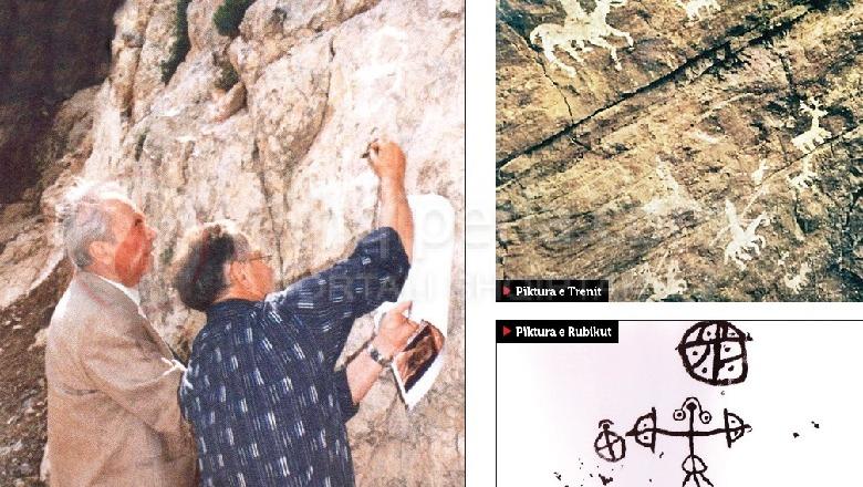 Një udhëtim me pikturat prehistorike në trojet ilire nga Lepenica në Tren