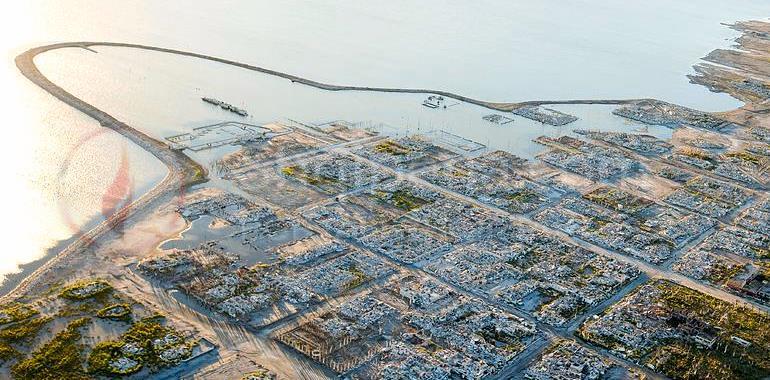 Qyteti i përmbytur del në sipërfaqe pas 30 vjetësh. -