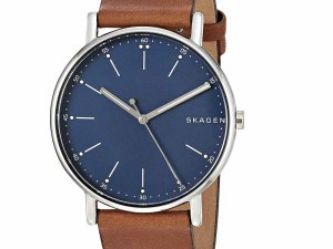 Skagen Watch: Skagen Analog Blue Dial Men's Watch – SKW6355 at Best Price