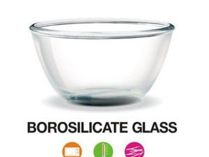 Kitchen Glass Bowl | Treo Borosilicate Microwave Safe Mixing Glass at Best Prices for 2020