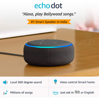 Best Amazon Echo Dot 3rd gen – Smart speaker with Alexa (Black)
