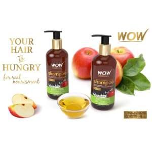 wow shampoo apple cider vinegar